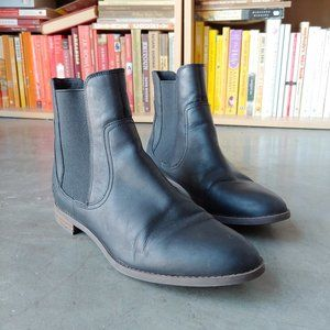 Timberland Black Preble Chelsea Boots 9.5